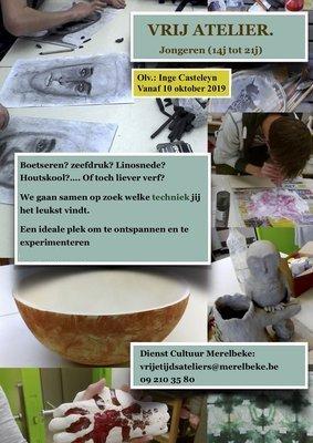 Workshops Vrij (heid)-atelier