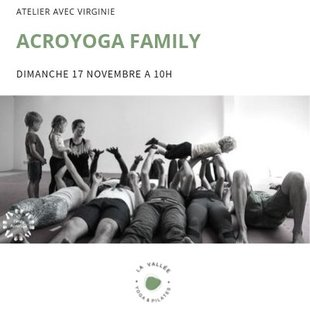 Stages,cours Acroyoga family