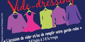 ea441f99403d4 Vide Dressing : toutes les dates - Quefaire.be