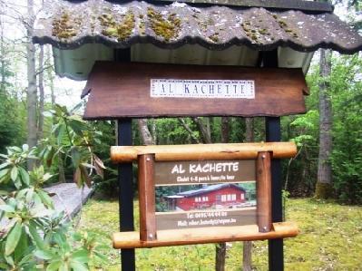 Al Kachette Chalet jusqu'à 6 pers dans un cadre...