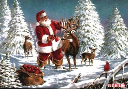 Saint Nicolas et Père Noël à domicile
