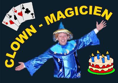Magicien - Enfants magie jonglerie et ballons