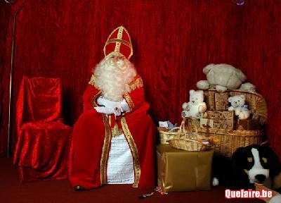 St Nicolas et Pere Noel à domicile et en entrepr