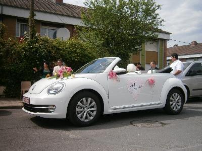 Votre mariage en Beetle Cabrio blanche intérieur...