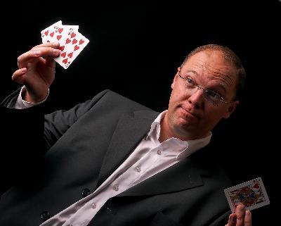 Un magicien pour votre cocktail ou pour votre...