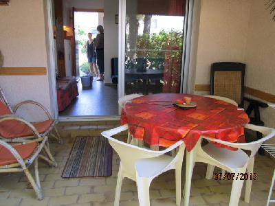 Cap d'Agde app.4pers.,tennisping-pong,plage ,