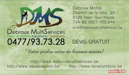 Debroux Multiservices 0477/93.73.28