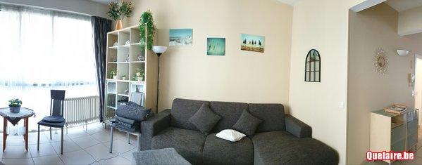 Bel appartement ensoleilé koksijde à 2 pas de la...