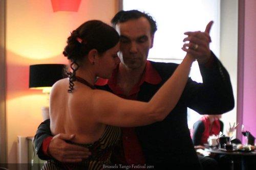 Tango initiaties en demonstraties voor feesten