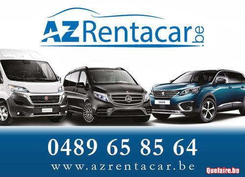 AzRentacar.be  Location camionnette et voiture...