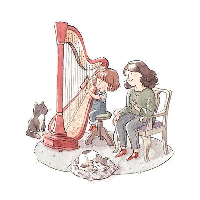 Harp lessen