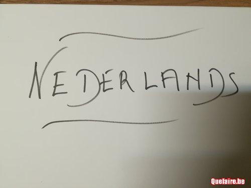 Partez du bon pied pour le Néerlandais