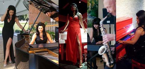 Live solo achtergrond pianomuziek alle genres