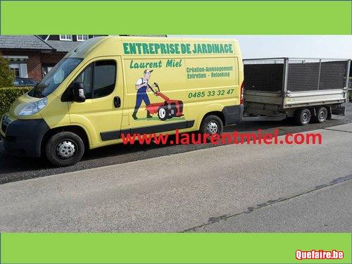 Entreprise parcs et jardins Frasnes-lez-Anvaing...