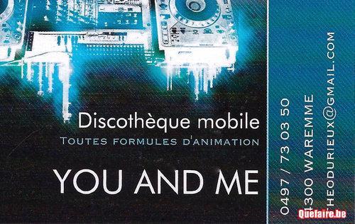 Discothèque You And Me