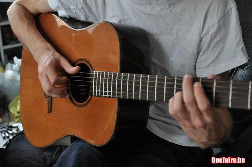 Cours de guitare folk - electrique - basse...