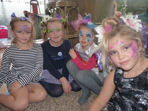 Kinderfeestjes aan huis met creatiefloslaten...