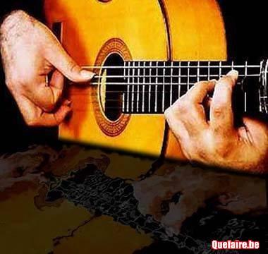 Apprend la guitare flamenco  par la mélodie