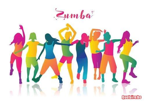 Cours danse zumba/hip-hop/girly/club/salsa