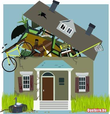 Vide maisons/encombrants