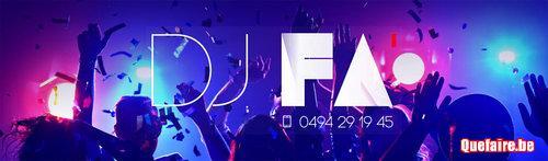 DJ FA - Animation anniversaires, mariages,...