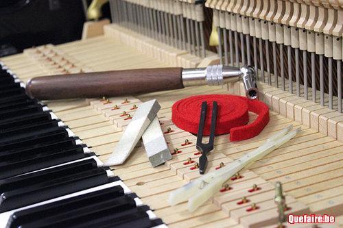 Accordeur de piano à Sombreffe - Gembloux