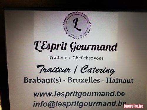 Traiteur - Catering  - L'Esprit Gourmand -