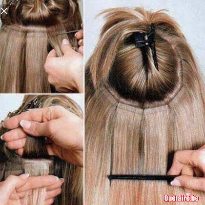 Extension cheveux keratine bruxelles