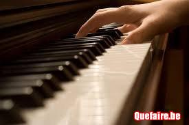 Cours particulier piano Tournai