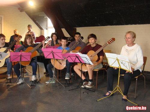 Cours particuliers de guitare classique et...