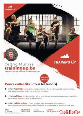 Planification - Personal Trainer - cours sportifs