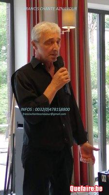 Un spectacle avec le sosie de Charles Aznavour