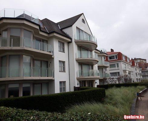 Duinbergen bel appartement à louer