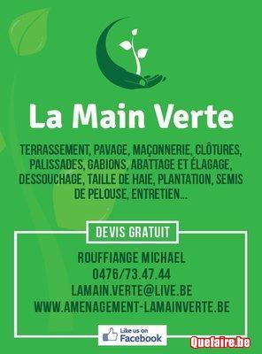 Jardinier La Main Verte