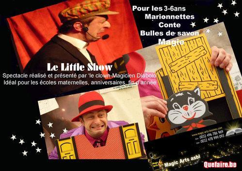 Le Little Show: Magie, conte et bulles de savon...