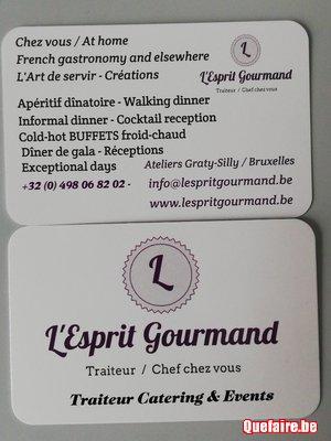 Chef chez vous- anniversaire-dîner informel-privés