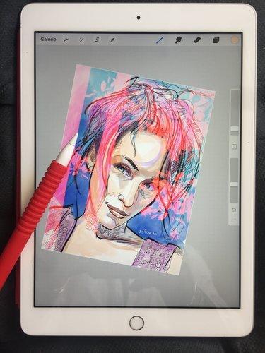 Cours dessin (online) sur Ipad