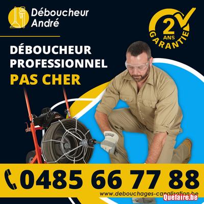 Plombier Déboucheur canalisation pas cher 0485 66...