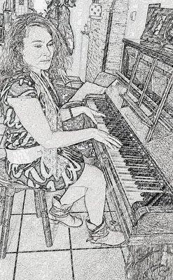 Pianiste / componiste Natalia Janssens /Pianoart...