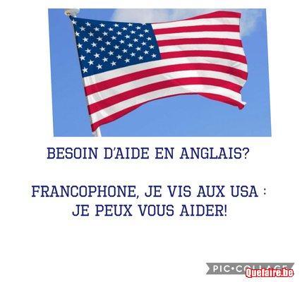 Anglais en ligne via les USA par jeune...