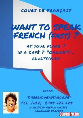 Français /  French for foreigners kids-adults
