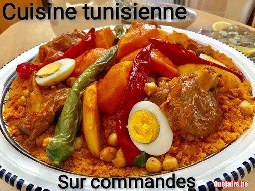 Cuisine et pâtisserie tunisiennes sur commande