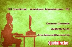 Secrétaire indépendante offre services