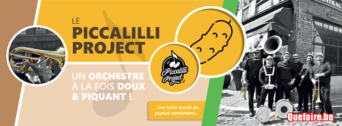 Le Piccalilli Project, un orchestre doux et...