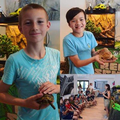 Reptielenfeest met ReptiSchool
