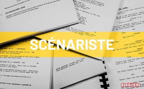 Je propose des cours de scénario fiction et...