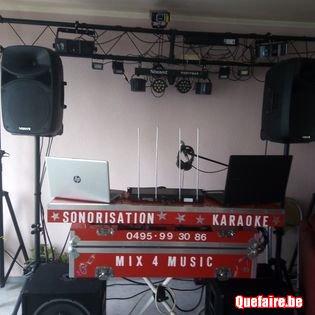 Sonorisation - Karaoké