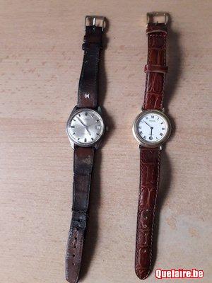 2 montres Pulsar et Pontiac