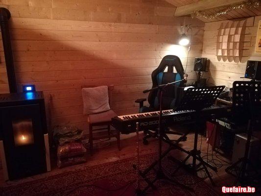 Cours de piano classique ou accompagnement...