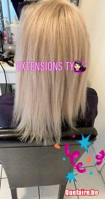 Extensions Capillaires Kératine adhesives micro...